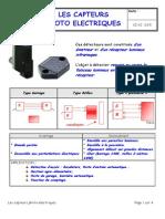 4-Les Capteurs Photoelectrique