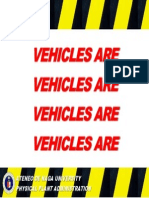 Vehicle Sign1a