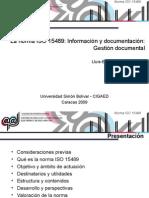 Ponencia ISO 9001.2009