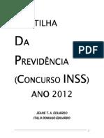Cartilha INSS 2012
