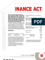 Financial Act 2009