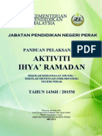 Panduan Ihya Ramadhan SMK SK 2015