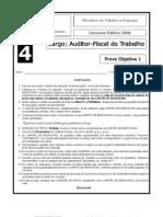 PROVA AUDITOR-FISCAL DO TRABALHO 2006