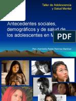 Antecedentes de Los Adolescentes en México