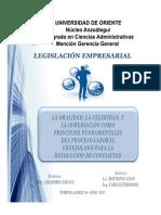 Presentación Fundamentos Del Proceso Laboral. Carlos Perdomo y Berthing León