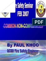 Qatar Civil Defence Common Non-compliances