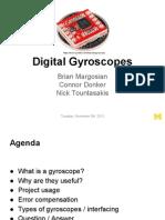 Digital Gyroscopes