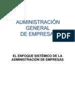 Enfoque Sistemico de La Administracion de Empresas Doc