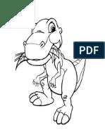aplicación  dinosaurios