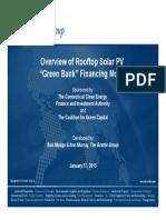 Overview of Rooftop Solar PV Model 11713v2