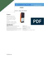 PX006 Specification- www.ttbvs.com