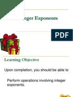 3.1 Integer Exponents