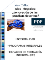 Clase Integralidad