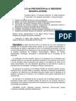 Protocolo de Prevención de La Obesidad Infanto-juvenil