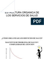 Estrctura Organica Serv. de Salud
