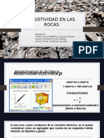 Exposicion Resistividad de Las Rocas