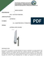 Informe de Antenas Panel