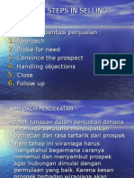 Manajemen Penjualan 3 - Langkah Lanjutan