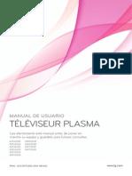 LG Plasma TV 50PJ350-UserGuide-ES