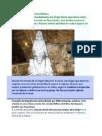 Santuarios de Virgen María, Áreas Profundas Raíces Bíblicas