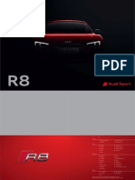 Audi R8 Coupé Catalogue (2015, D)