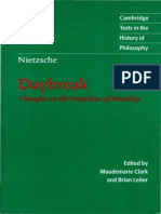 Friedrich Nietzsche-Daybreak_ Thoughts on the Prejudices of Morality (Clearscan)-Cambridge University Press (1997).pdf