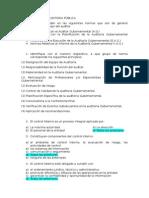 Cuestionario de Auditoria Pública
