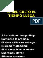 1 DEL CULTO EL TIEMPO LLEGA.ppt