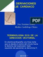 Curso ECG_2 Derivaciones y Eje
