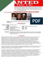 Evgeniy Mikhailovich Bogachev -FBI most wanted hacker