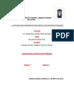 Secuencia Didactica TICS