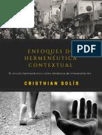 Enfoques de Hermenéutica Contextual - Cristhian Solís