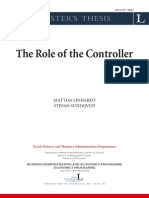 Published Thesis - The Role of the Controller