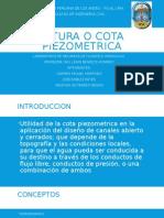 Altura o Cota Piezometrica Diapositivas