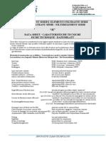 Ethafilter Data Sheet
