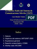 La Interfaz Radio Del Sistema de Comunicaciones