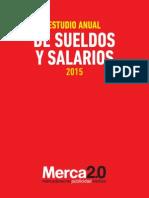 Sueldos y Salarios 2015