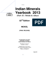 India Mineral Report 2013 Nickel