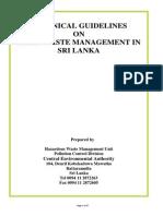 Guidlines on Solid Waste Management