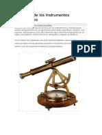 Evolución de Los Instrumentos Topográficos