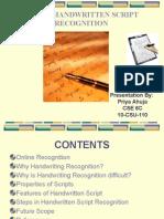Online Handwritten Script Recognition.pptx
