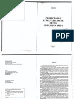 Proiectarea Str. de Beton Dupa SR en 1992-1