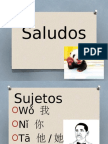 CHINO MANDARIN-SALUDOS