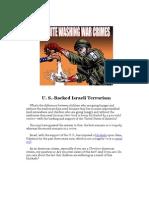 U. S.-backed Israeli Terrorism