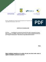 Model Diplome Si Certificate