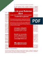 Demo Fisa de Post