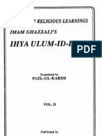 Ihya' 'Ulum Al-Din Vol 2