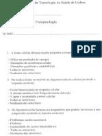 Frequência de Fisiopatologia 2010