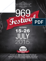 969 Festival at the Wits Theatre