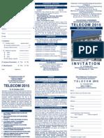 Telecom 2015 Invitation